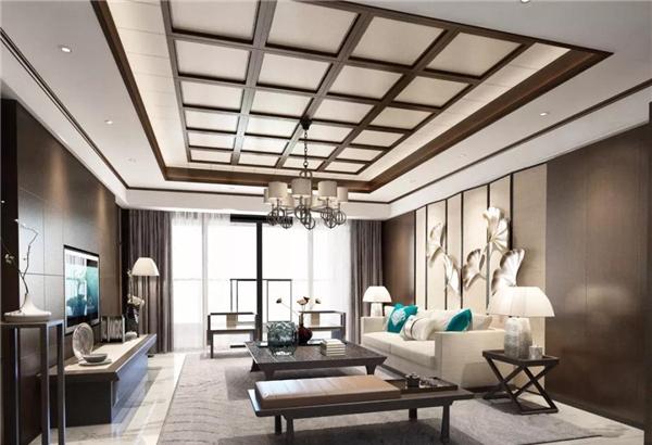 上海武峰集成吊顶客厅装修效果图图片