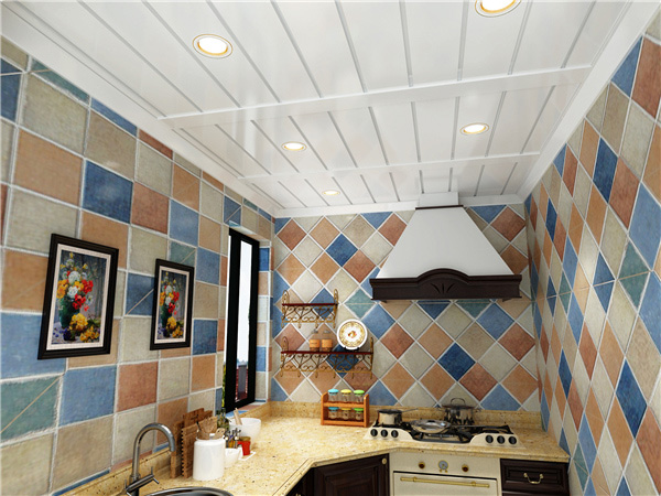铂雅集成吊顶厨房装修效果图图片