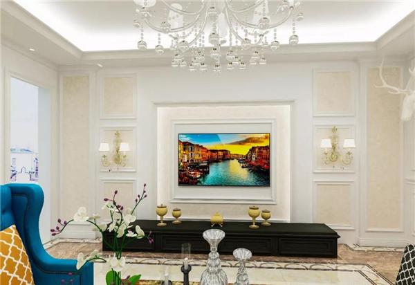 沃家全屋定制全屋整装背景墙效果图图片