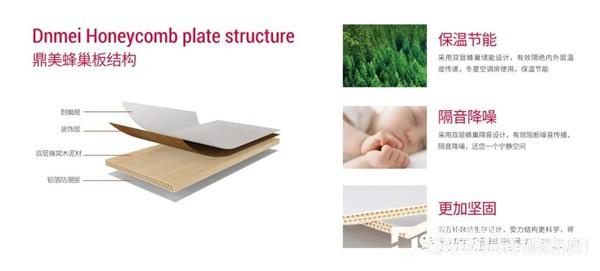 鼎美木泥蜂巢板:好墙板,过低碳暖冬!